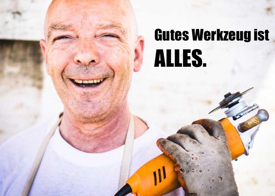 Gutes Werkzeug ist alles. www.werkzeug-angebote.de